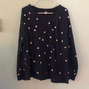 Old navy daisy sweatshirt